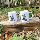 His and Hers Coffee Mugs...I Like Her Butt...I Like His Bear
