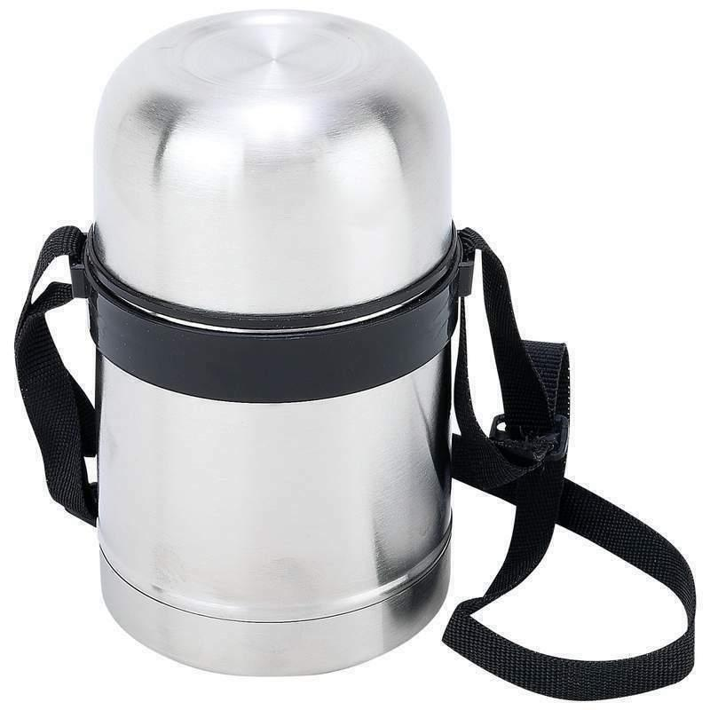 Hot Lunch 17oz Insulated Food Storage Soup Cup Strap