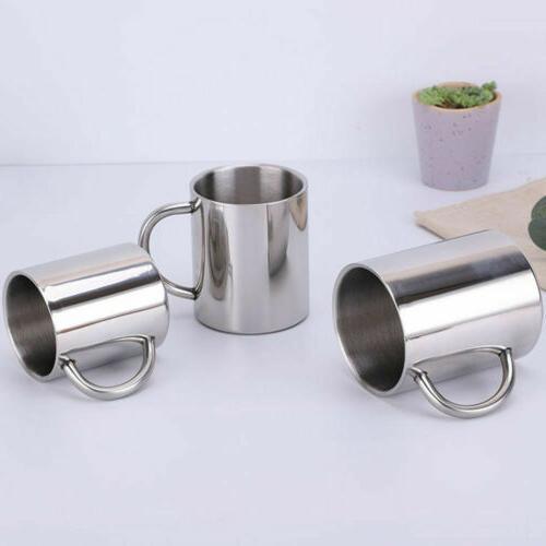 Hot Drinking Tumbler Pint Coffee Mug Portable Cup