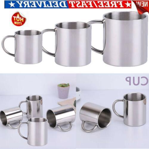 hot metal drinking tumbler pint coffee mug