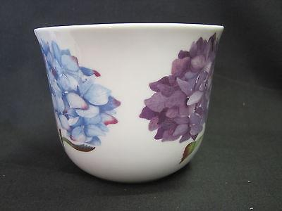 HYDRANGEA, FINE BONE CHINA BREAKFAST CUP SAUCER, KIRKHAM, MADE