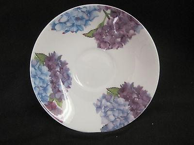 HYDRANGEA, BONE BREAKFAST CUP SAUCER, ROY KIRKHAM, MADE