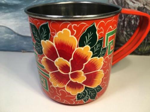 India Mug Orange NEW