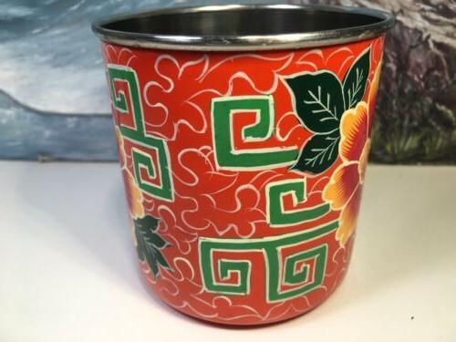 India Mug Orange Asian