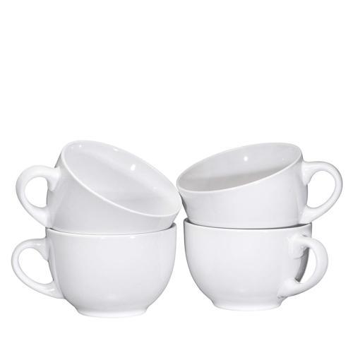 Jumbo Cereal Mugs Wide Ceramic Mug Set 24 Ounce, Bruntmor