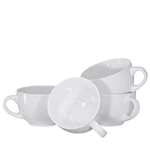 Jumbo Bowl Cereal Mug 4, 24 Ounce,