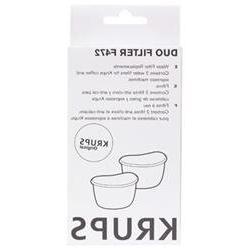 Krups 472-00 Duo Water Filter for Coffeemaker
