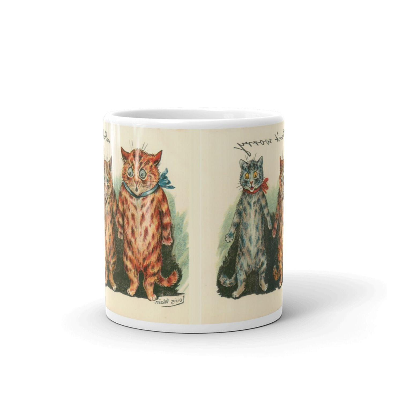 Louis Don't Funny Cats 11 Coffee Mug, Coffee Mugs