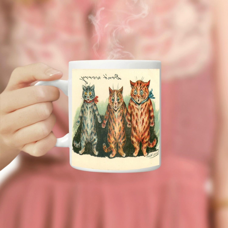 Louis Wain Don't Funny Oz Coffee Mug, Mugs