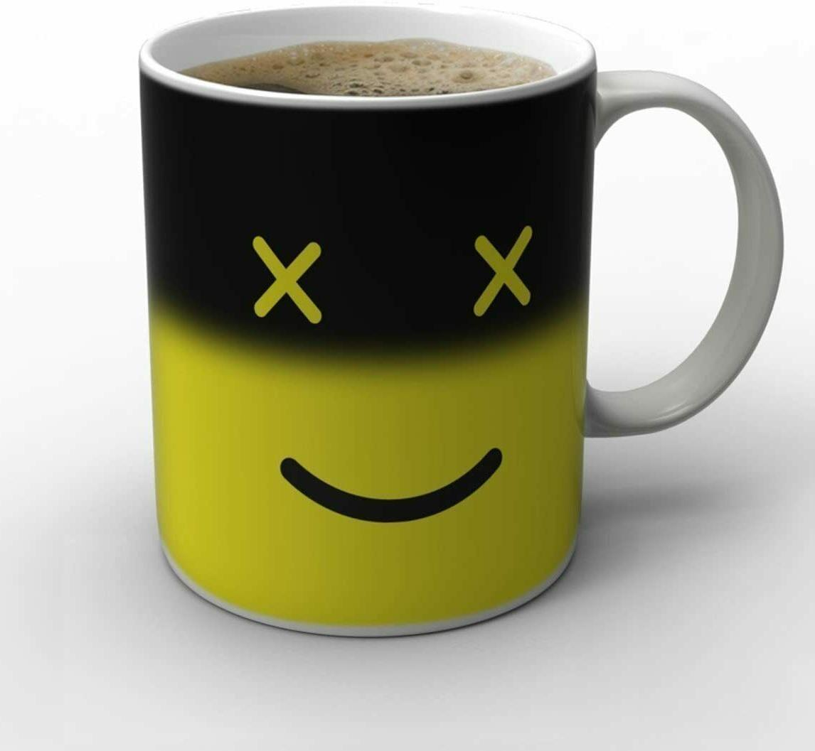 Magic Morning Smiley Heat Tea Coffee Mug