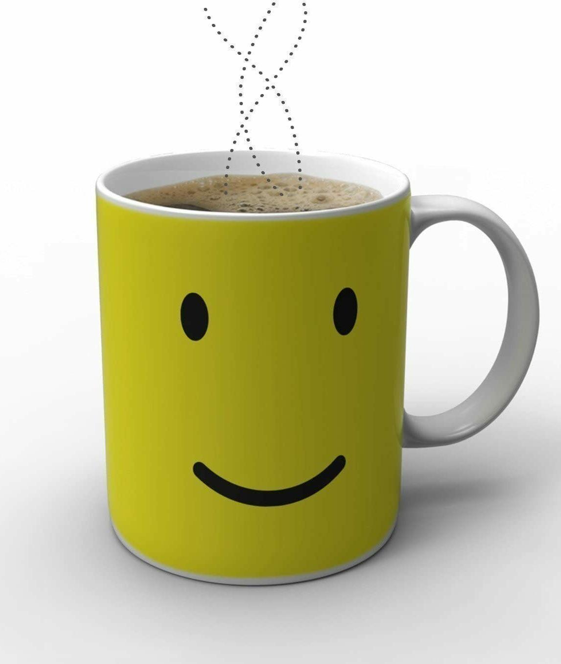 Magic Heat Sensitive Porcelain Tea