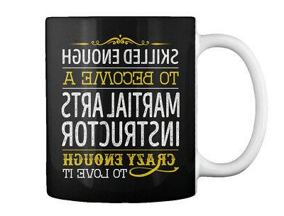 martial arts instructor love it gift coffee
