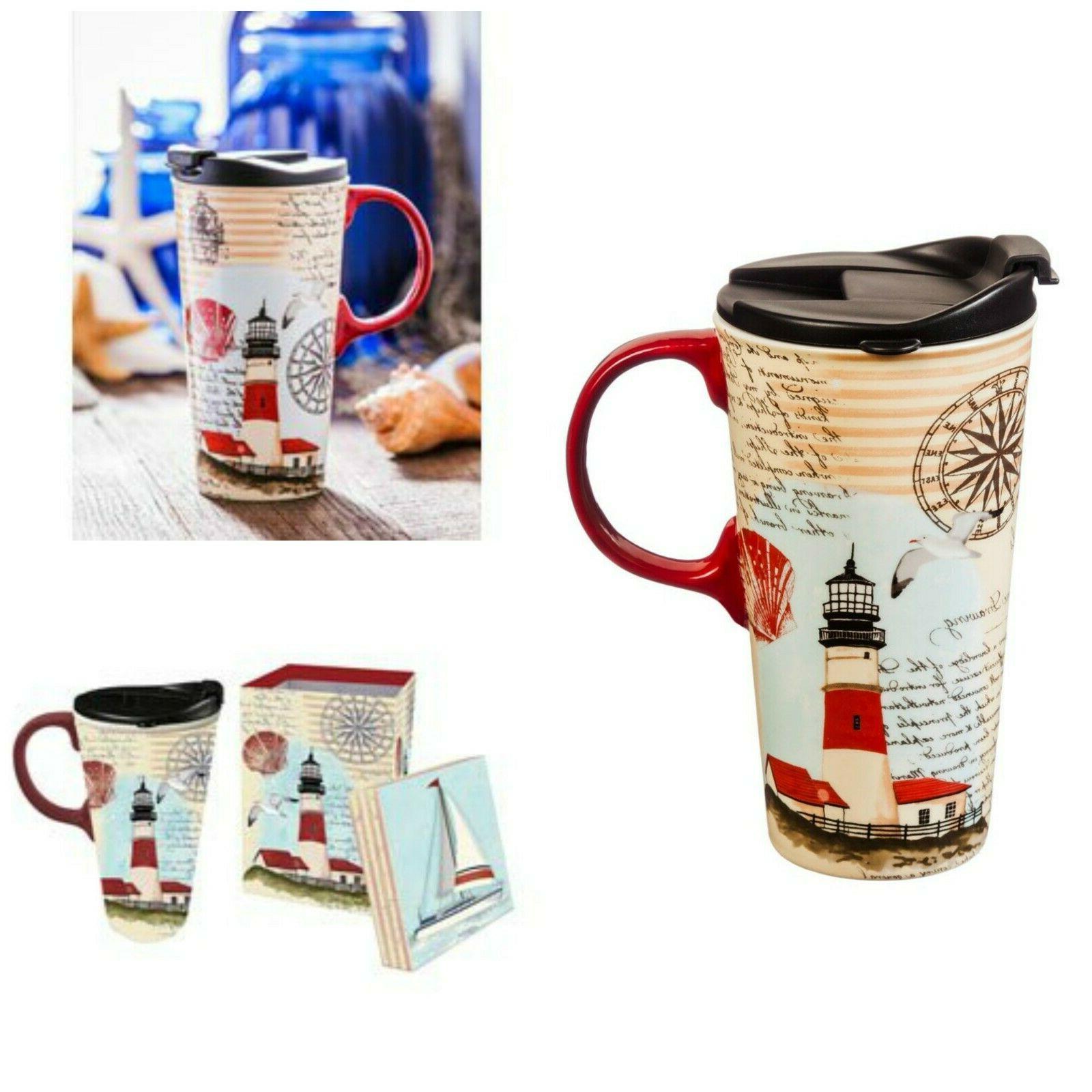 Microwave Safe Travel Mug Gift Box Plastic Lids Dishwasher T