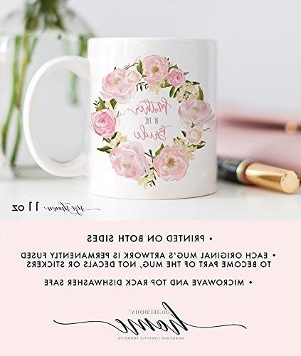 Mother of the Floral oz for Mom Shower Dinner Cup
