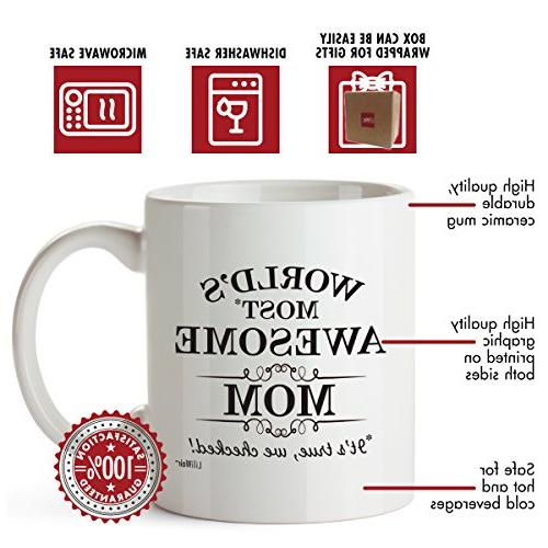 Mom From Christmas Moms Law New Coffee Son Great Funny Presents Mugs Mommy Dad To Mom's Present