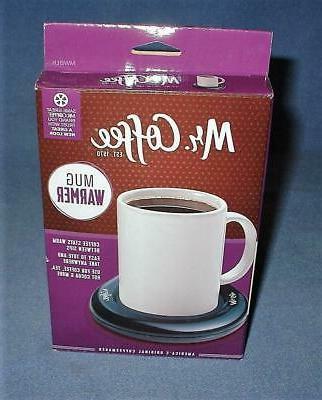 mr coffee mug warmer new in box