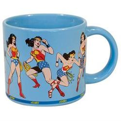 Mug - DC Comics - Wonder Woman Through the Years Cup 12oz Ne