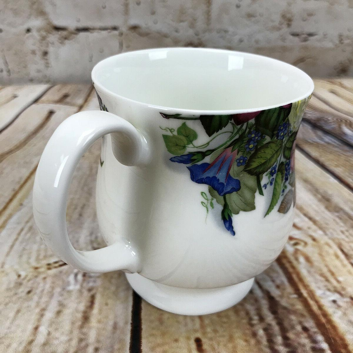 Mug Cup Cottage Lily of the Valley Heirloom Bone