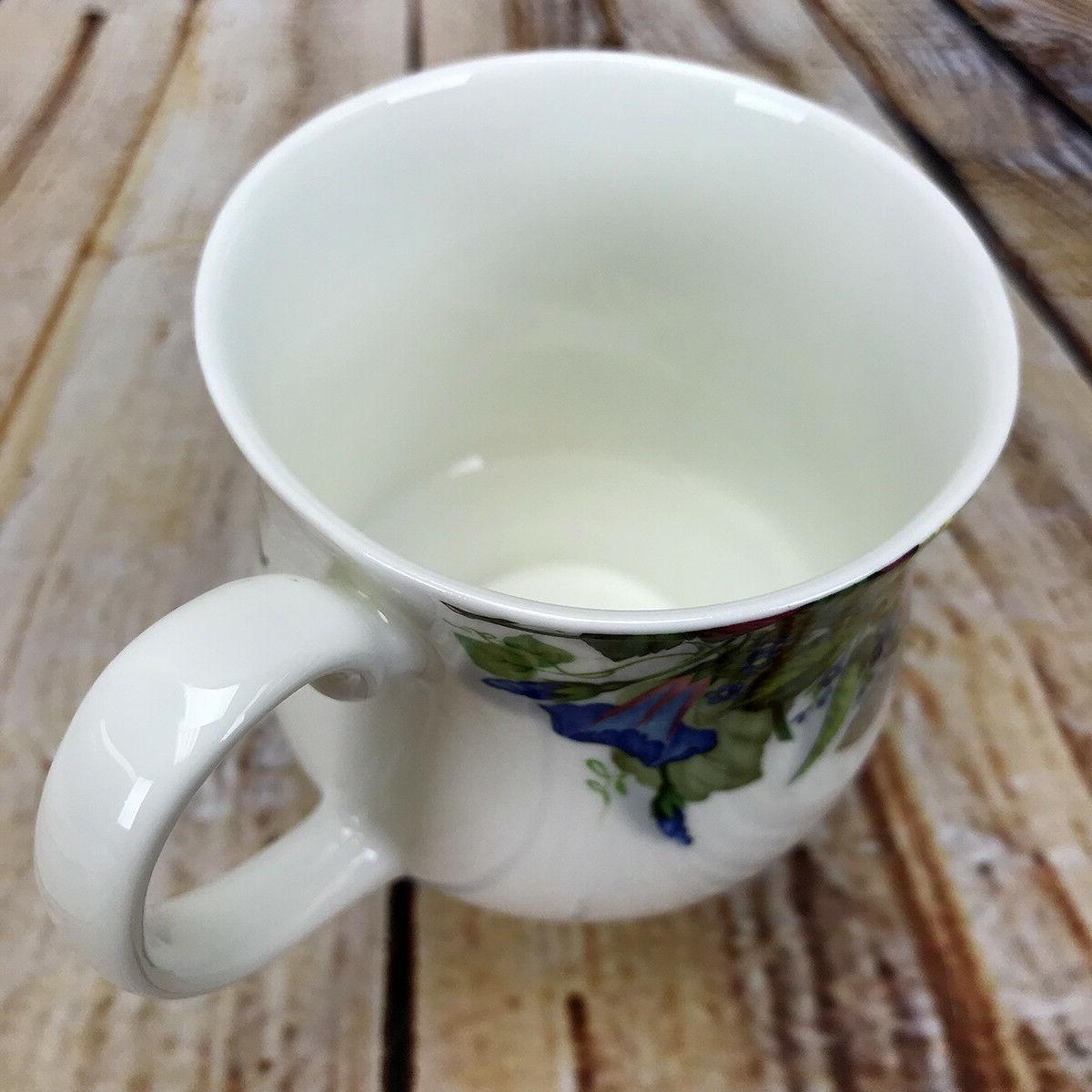 Mug Cottage Zinnia of Bone