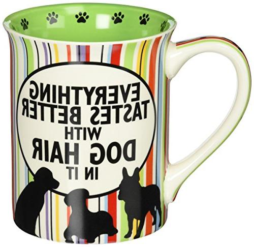 Our Name is Mud Dog Hair and Friends Stoneware Mug,