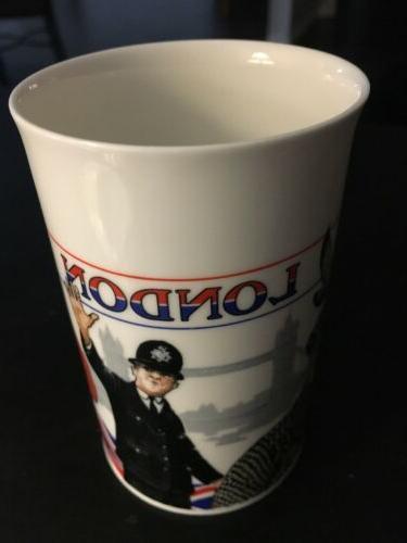 Never Fine Bone China Coffee Tea Mug Crafted by