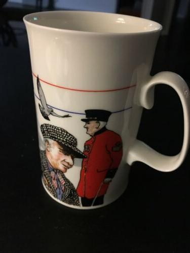 never used fine bone china london coffee