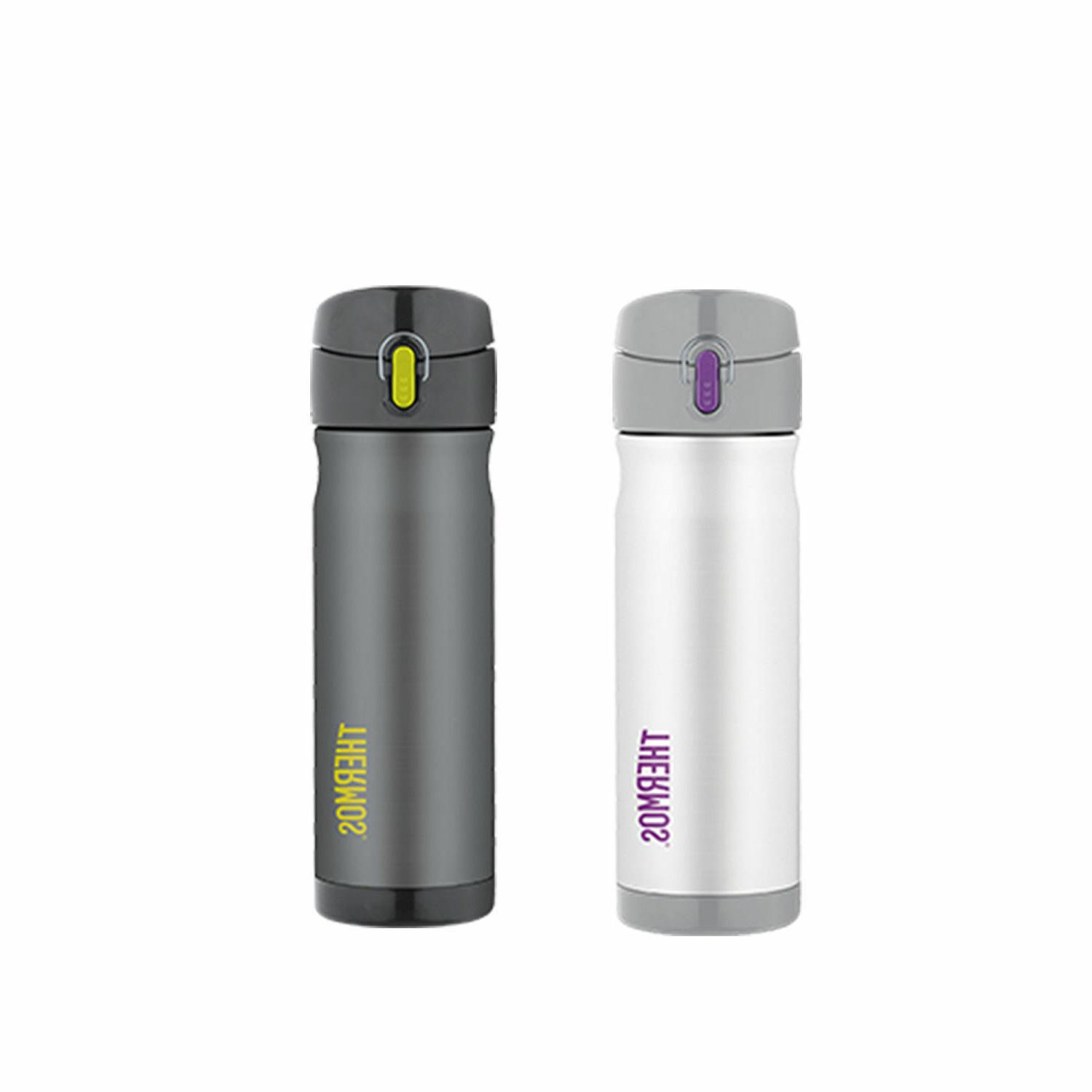 New 16 Ounce Stainless Steel Insulated Bottle