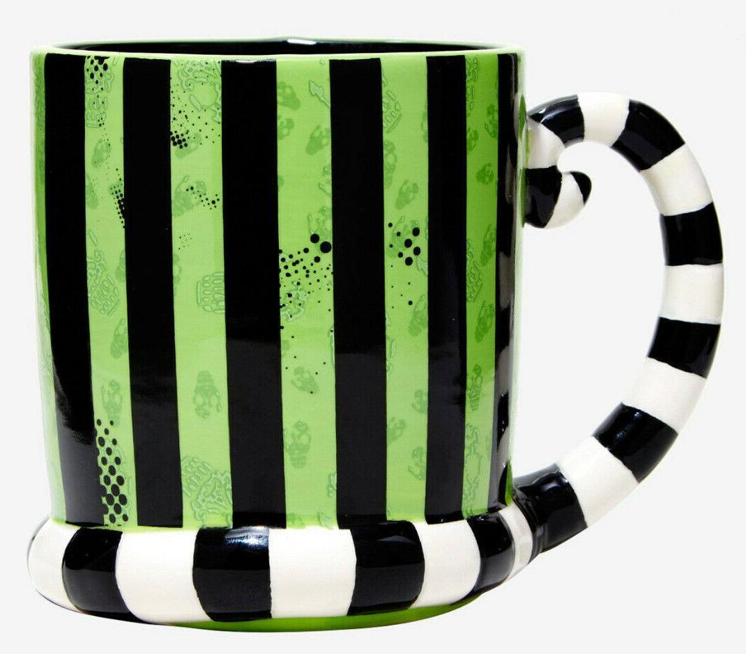 new Beetlejuice sandworm 3D mug 24 NIB