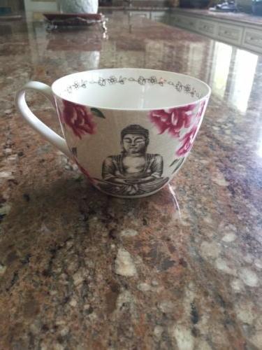 new coffee tea mug buddha peace cup
