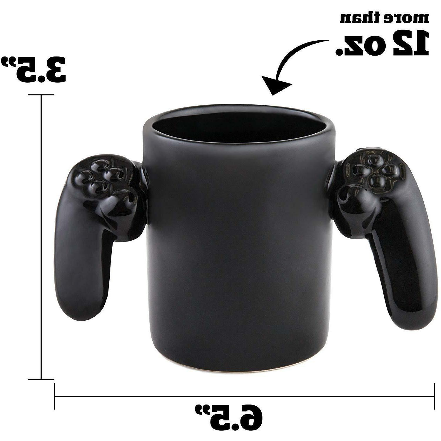 New Game Video Controller Coffee Black Gamer Gift
