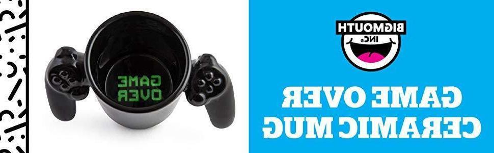 New Game Controller Mug Black Gift