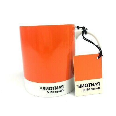 pantone coffee mug 10oz color o 21