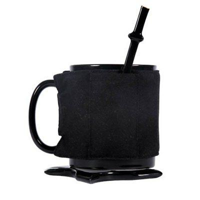 Ninja Ceramic Cup Spoon Sword Coffee Mugs
