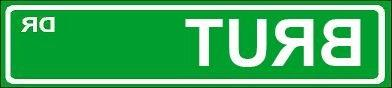novelty brut street sign aluminum