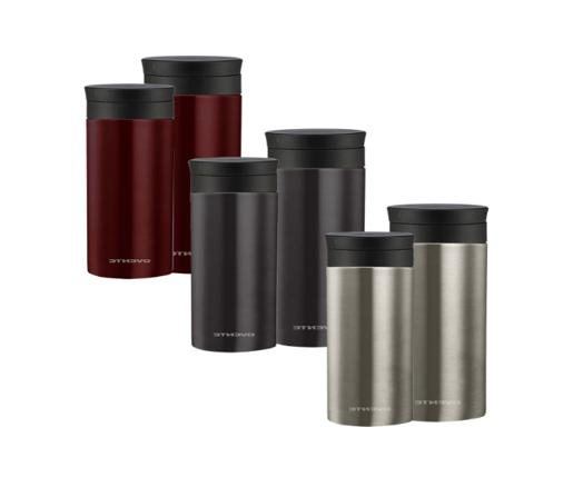 Ovente Travel Flavor Infuser Thermos Vacuum Insulated