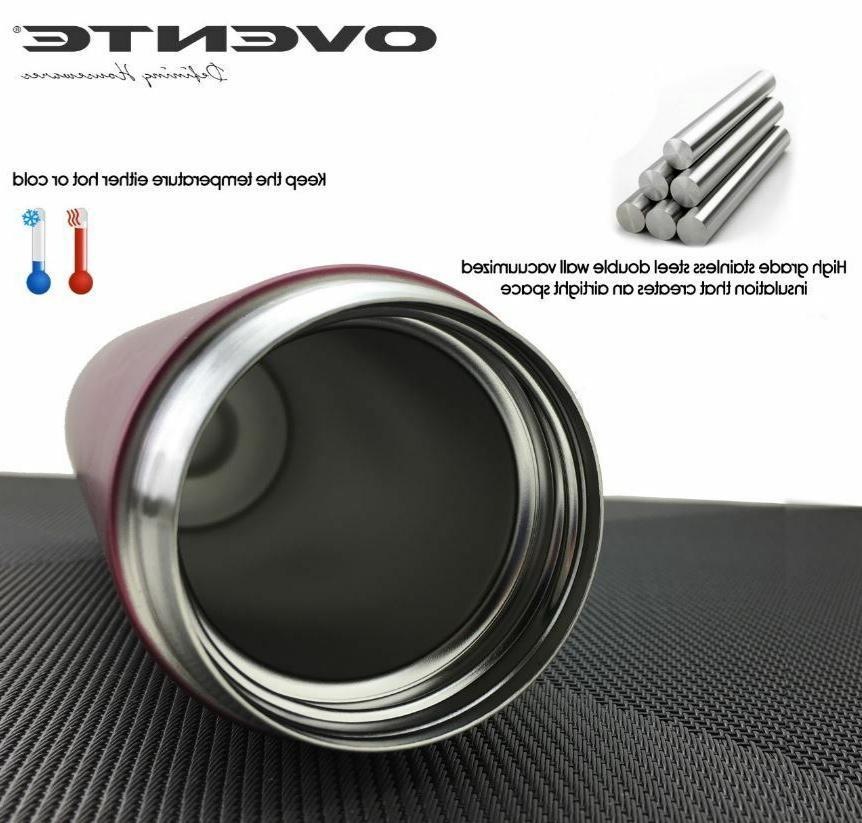 Ovente Travel Mug Flavor Vacuum Insulated
