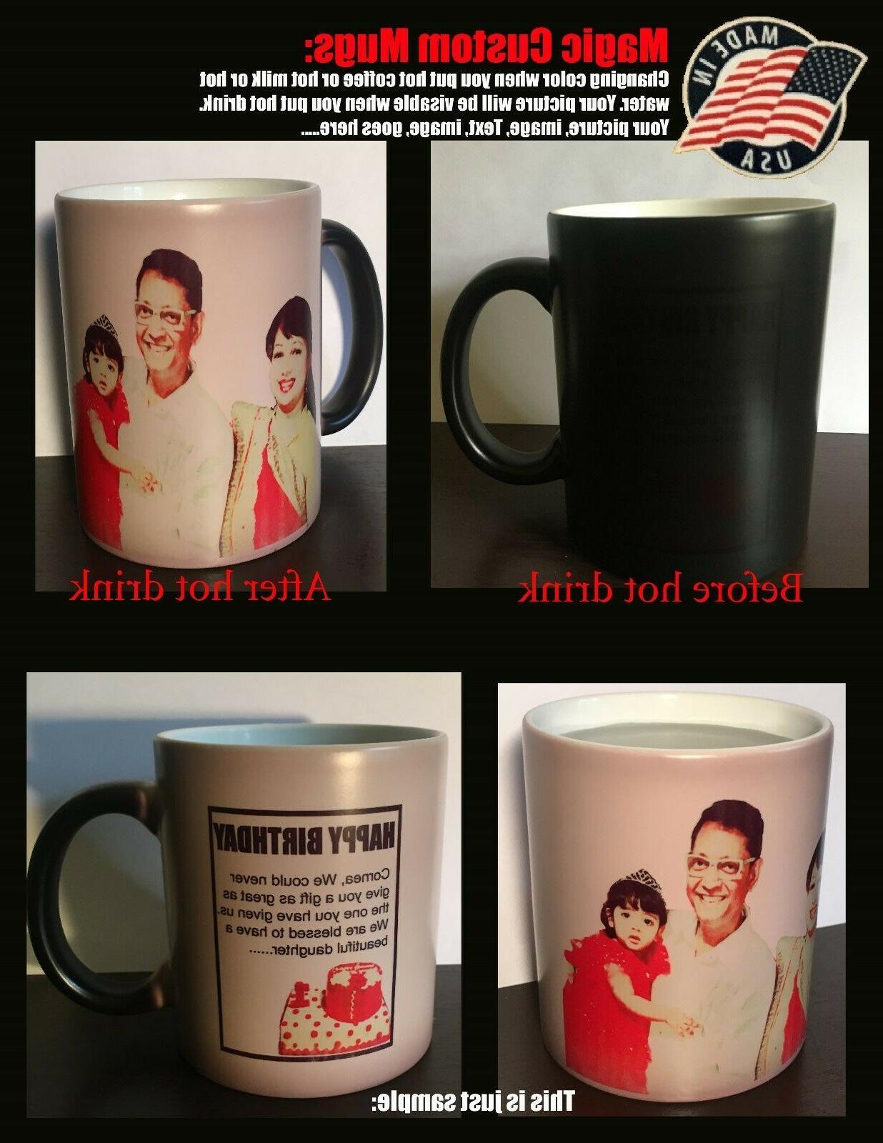 Personalised Mug,Custom Mug, Photo Text
