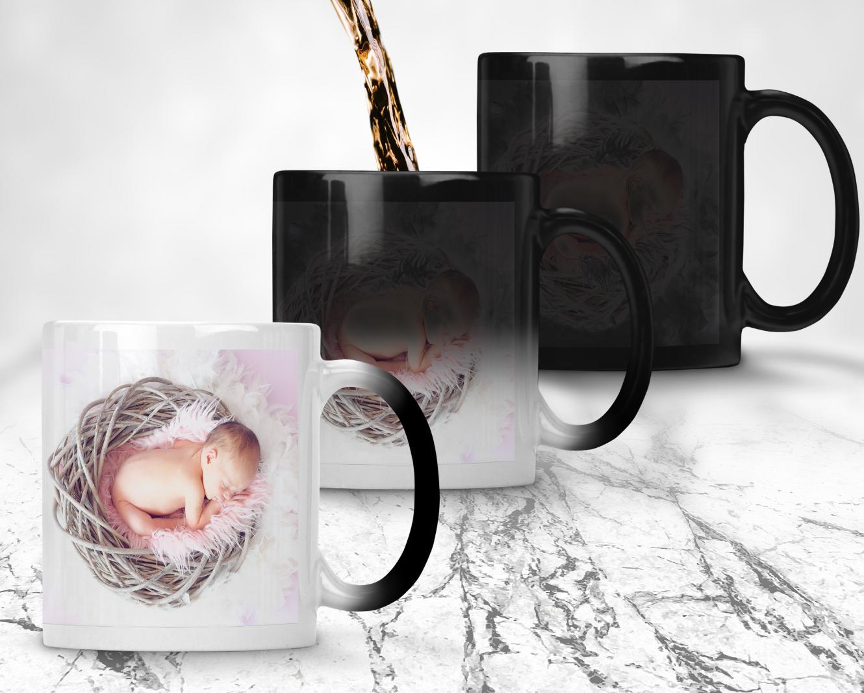 Personalised MAGIC Mug Custom Cup Any Text