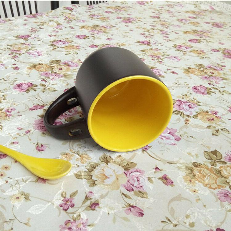 Coffee Cup Set 6, Spoon Oz. Mugs