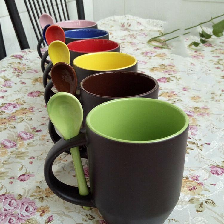 Coffee of 6, Mug with Oz. Porcelain Black
