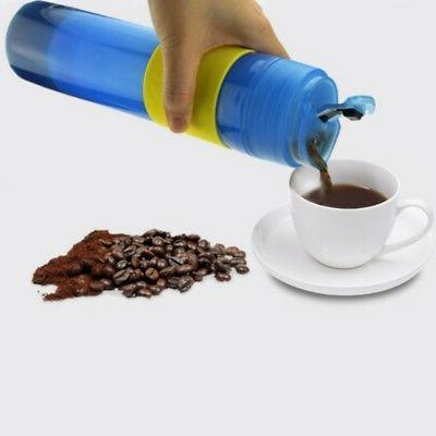 portable french press travel mug coffee maker
