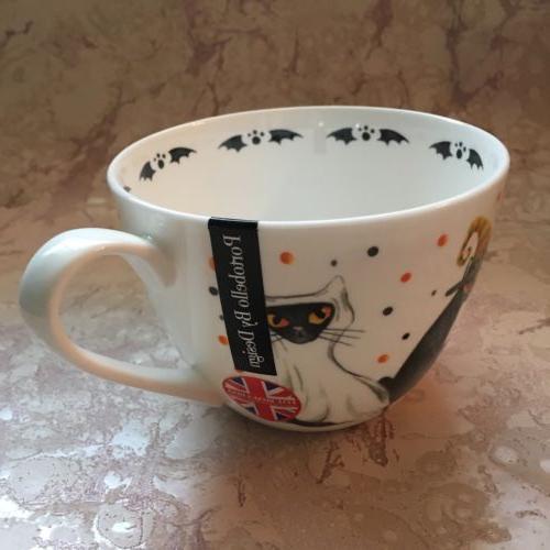PORTOBELLO by Design Coffee/Tea Mug HALLOWEEN WITCH