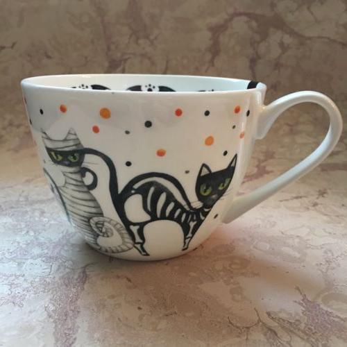PORTOBELLO by Coffee/Tea Mug Bone HALLOWEEN WITCH NEW!