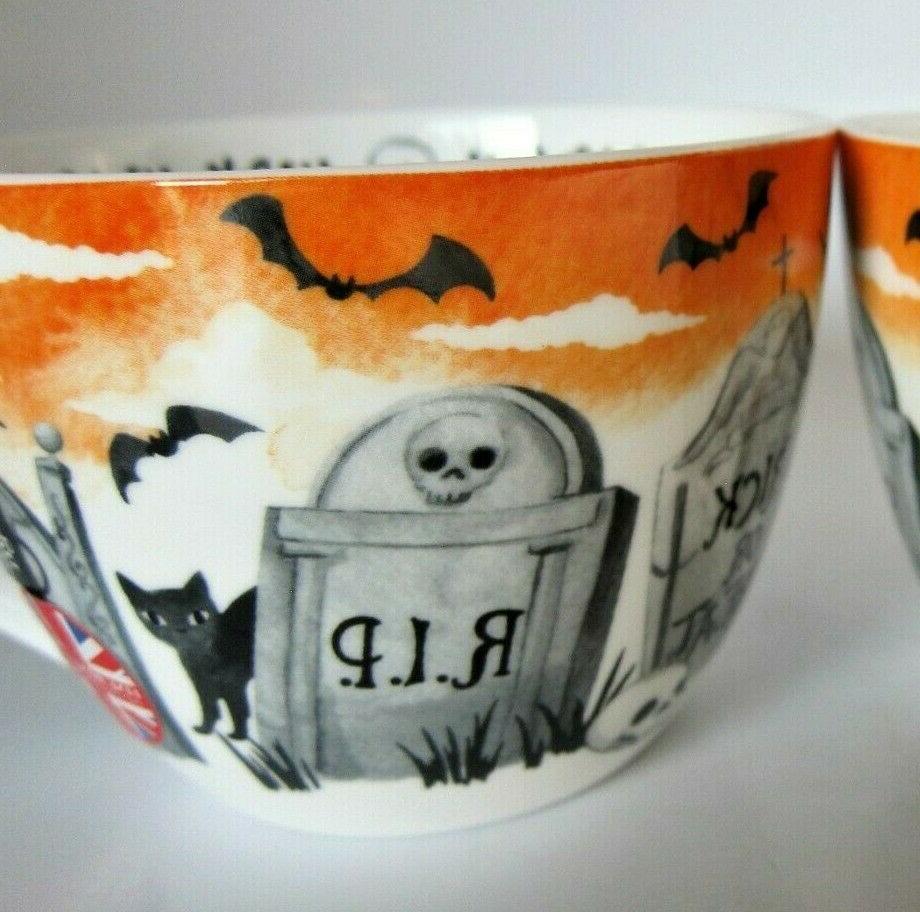 Portobello Cup Black China