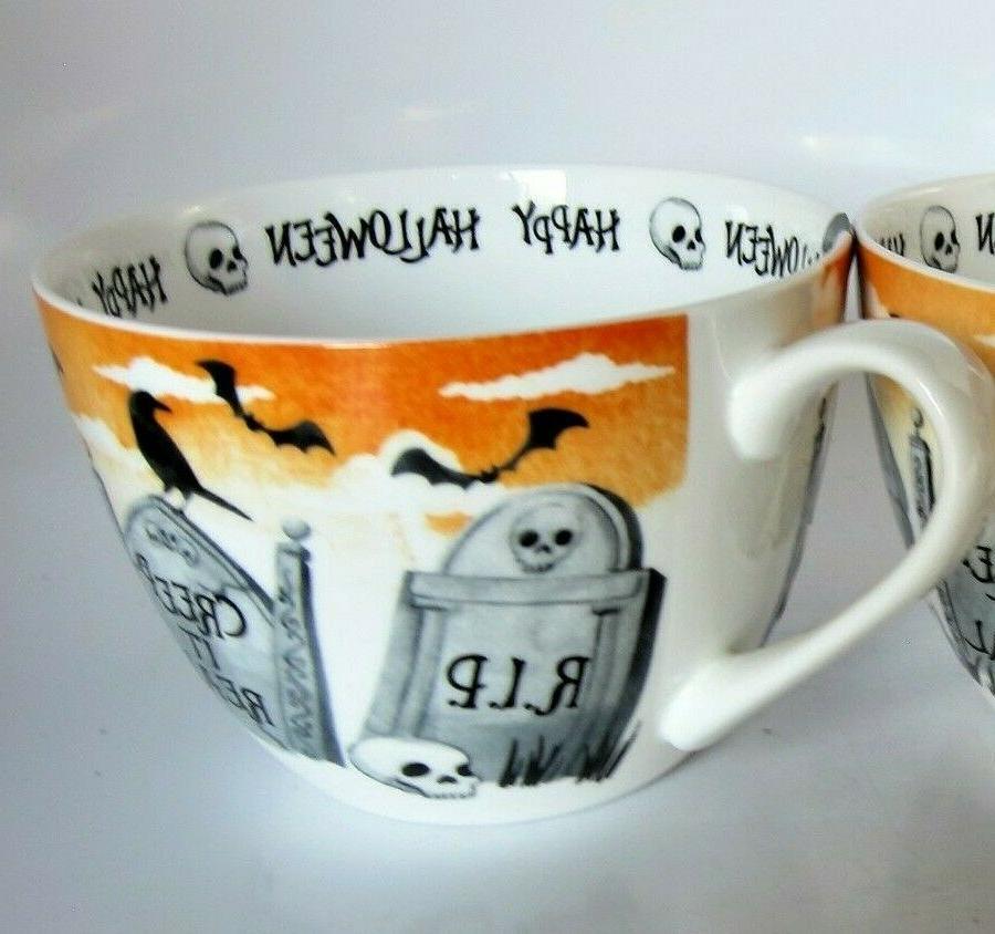 Portobello Halloween Coffee Tea Cup Tombs China