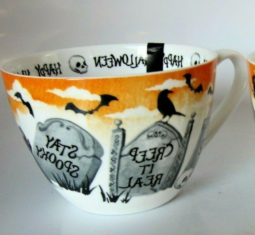 Portobello Cup Tombs Witch Black Bats China