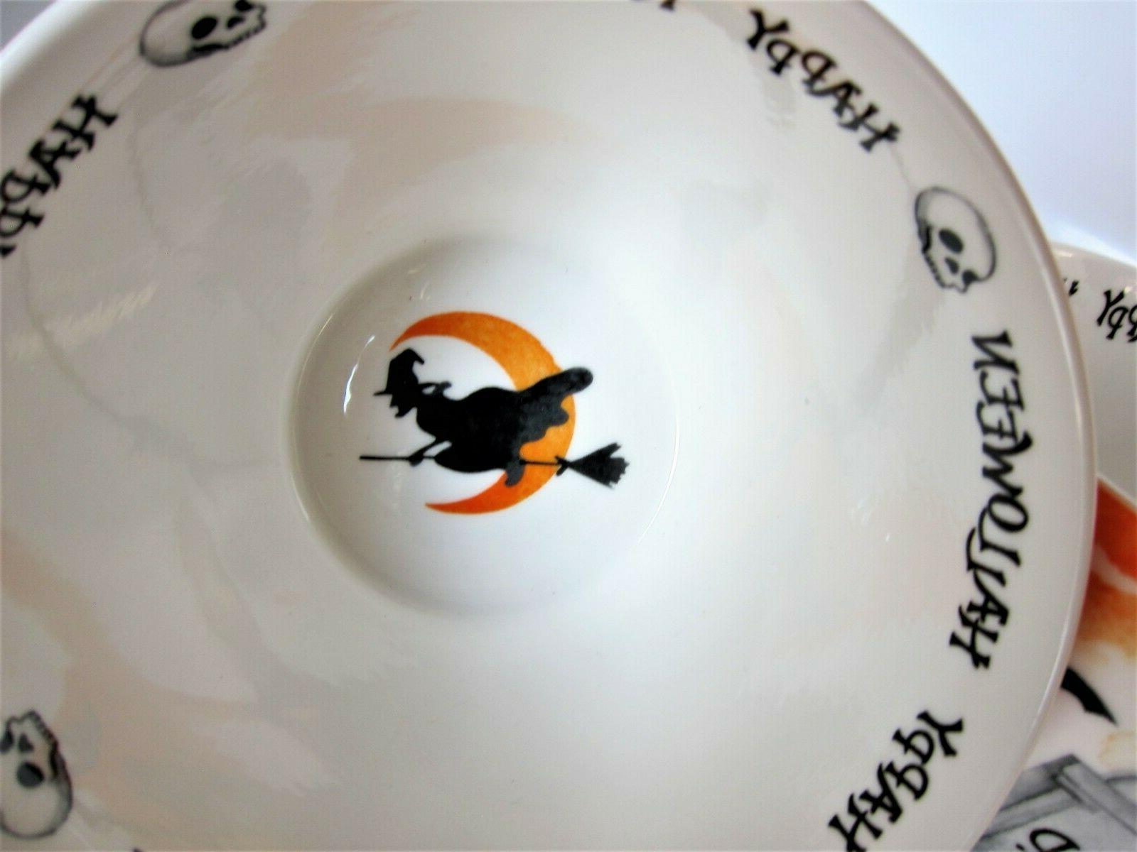 Portobello Cup Tombs Witch Black Bats Bone