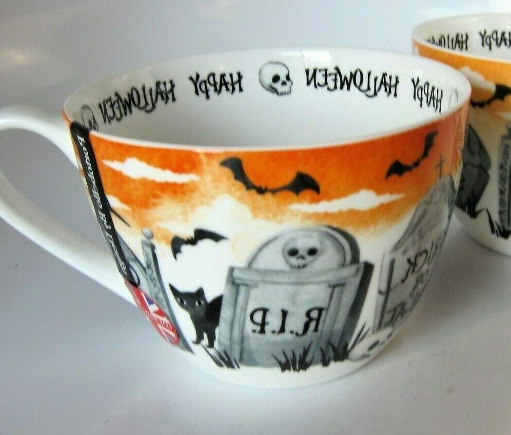 portobello halloween coffee tea cup mug tombs