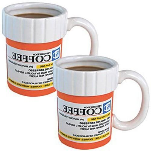 The Prescription Coffee Cup Mug Set of