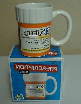 prescription pill medicine coffee cup